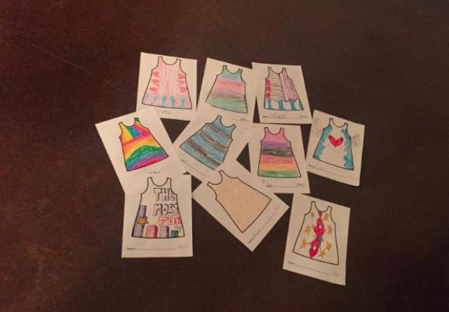 プレゼントに最適な、子どもが描いた絵と一緒にお出かけできるかわいいサービスPicture This Clothing_3