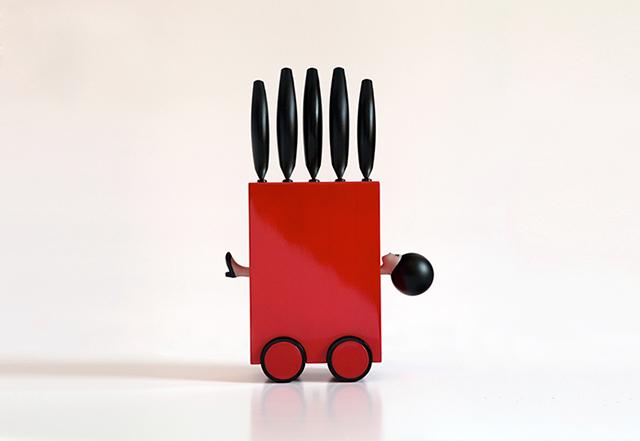 おちゃめなツールをデザインしているイタリアのMikko Sennaさん。キッチンが明るくなるデザインです。お子さんと一緒に使って、一緒に料理を楽しめること間違い無しなキッチンツールです。4