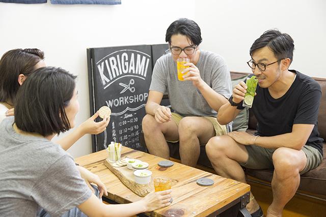 メイスイのソーダメーカーであるSODA MAKERを使って家で夏に飲みたい簡単でおしゃれな紅茶とみかんとモヒート風ミントのハイボールを作る_10