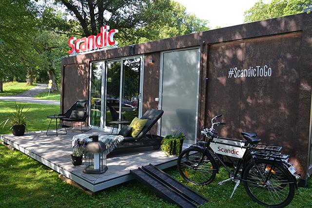 北欧のノルウェー、フィンランド、スウェーデン、デンマークに設置されたタイニーハウスみたいなおしゃれな移動ホテルであるScandic-To-Go_2