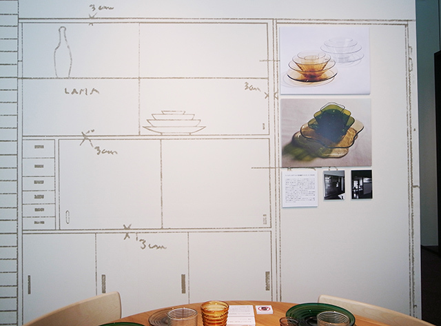 GALLERY A4ギャラリーエークワッドで開催されている、北欧の暮らしや家族を大切にする姿勢であったデザイナーでアルヴァ・アールトの妻、アイノ・アールトに焦点を当てた展覧会_12