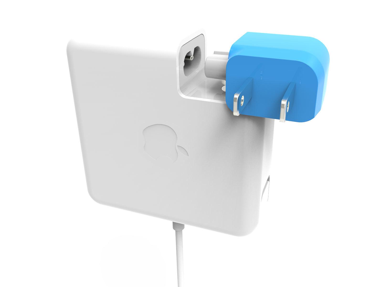 Apple社のパソコンMacの充電器をもっと便利に使うガジェットBlockhead_1