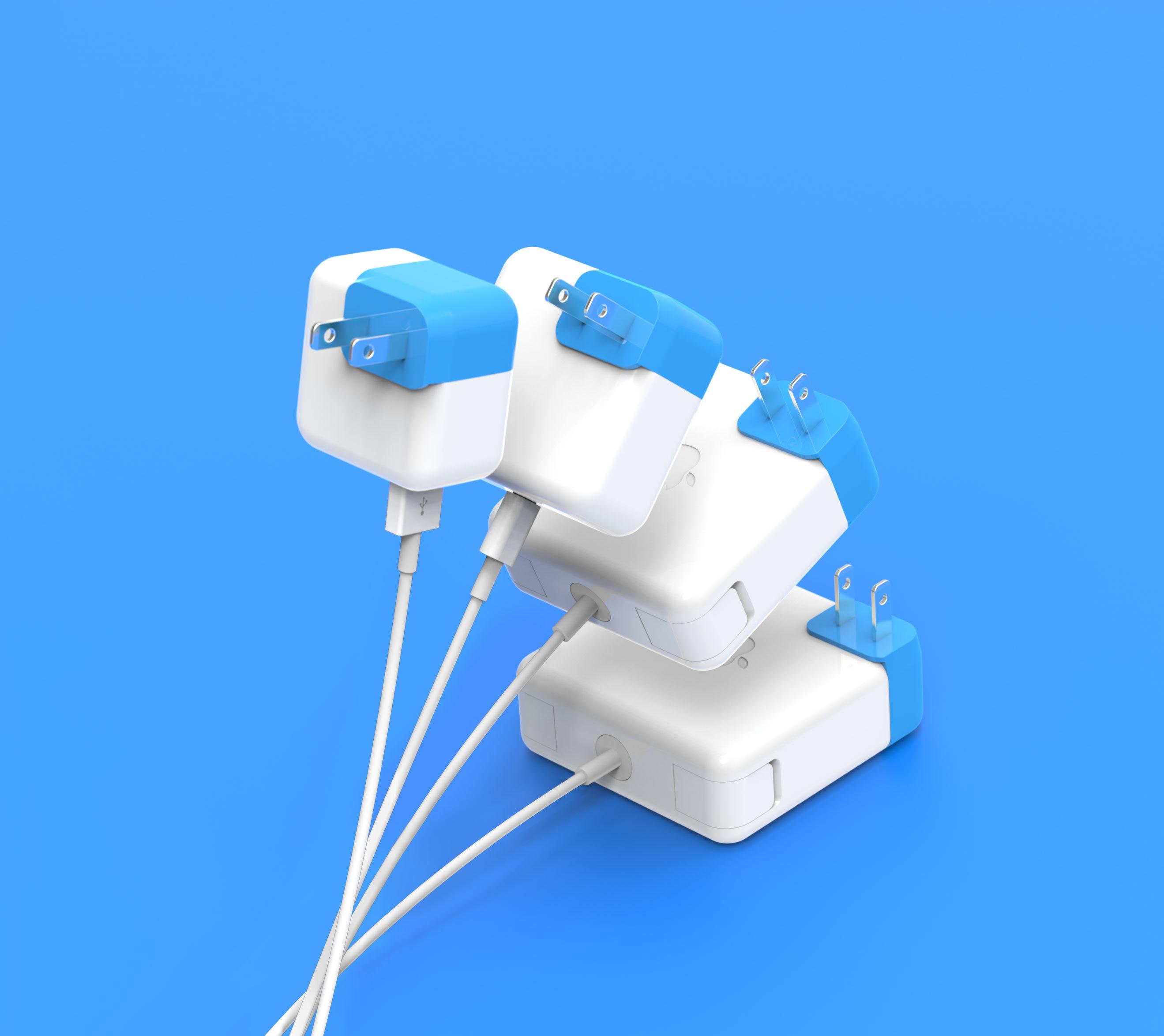 Apple社のパソコンMacの充電器をもっと便利に使うガジェットBlockhead_4