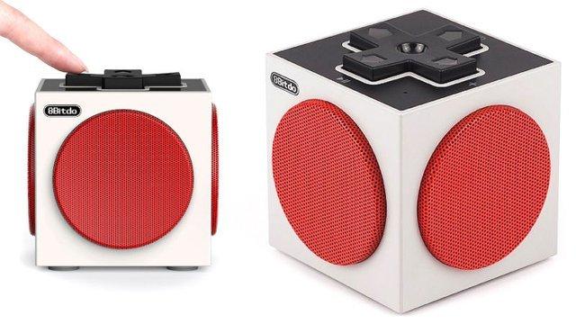 昔懐かしファミコンを思い起こさせるレトロな雰囲気を漂わせるBluetoothスピーカー「8Bitdo Retro Cube Speaker」。ファミコン世代のみなさんならば、絶対に欲しくなってしまう一品。top