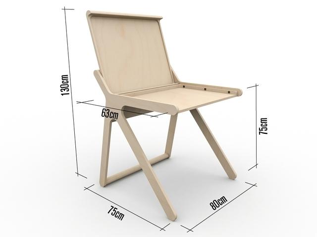 Rafa Kidsの「K desk」は、不必要を全て削ぎ落した洗練された勉強机です。机の蓋自体がカバーとなり、2通りの使い方ができます。一見無機質な机ですが、丸みを帯びたそのデザインからは、子どもがつかうことへの配慮が感じられます。4