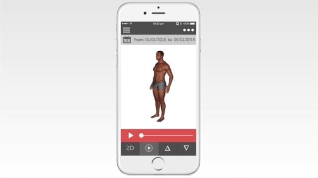 トレーニングやダイエットの成果がすぐにわかる、筋肉や脂肪の増減が一目でわかる、体を立体スキャンする体重計ShapeScale_7