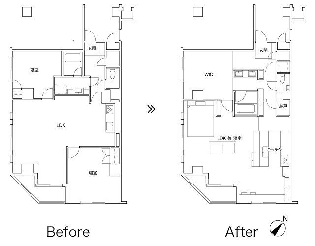 リノベーション事業を手がけるReBITAのお宅拝見シリーズから紹介する「M邸」は、忙しいMさん夫妻が、リラックスできることをとにかく大事にしたリノベ空間。「リノア東日本橋」という、ReBITAが1棟丸ごとリノベーションを手がけてた物件を自由にリノベーションし、希望の家を手にした。2