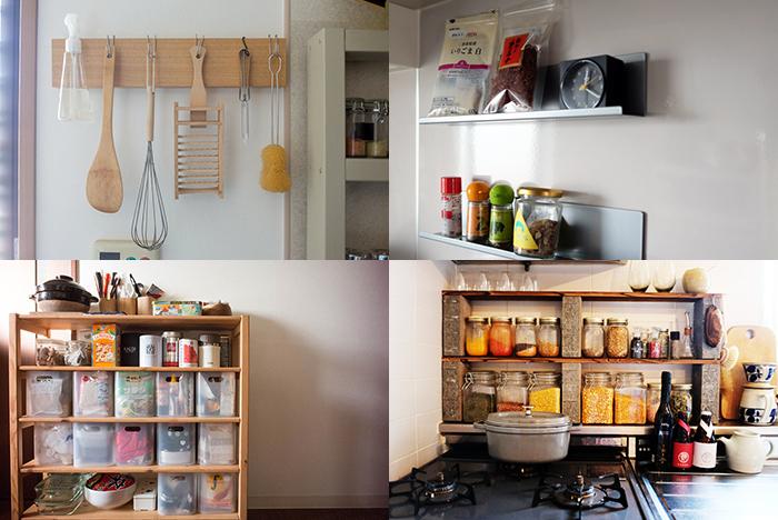 モノがどんどん増えて生活感がにじみ出がちなキッチン。そこで、いままでルーミーで登場した生活感をグッと抑える収納のコツや、便利なDIYアイディアをまとめてご紹介します。無印やイケアなど、手に入れやすいアイテムを使っているので、ぜひご家庭に取り入れてみてください。top