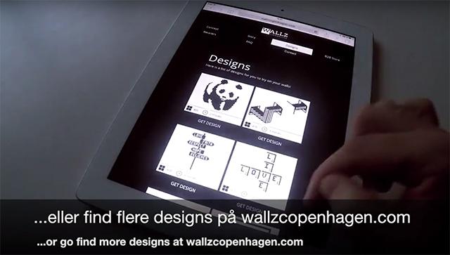 「Wallz Copenhargen」を使って大きなアートを描いてみよう。デザイン画を参考にしても作れます。