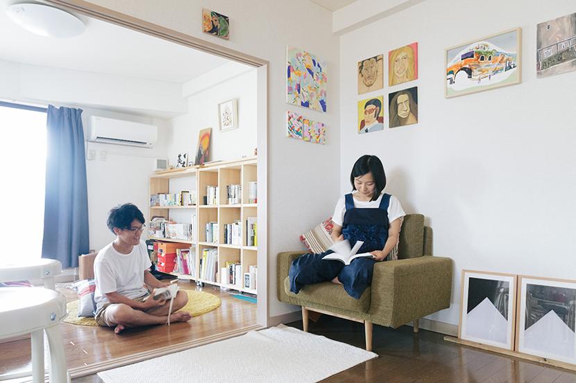 西荻窪のおしゃれでかわいいカップルの部屋