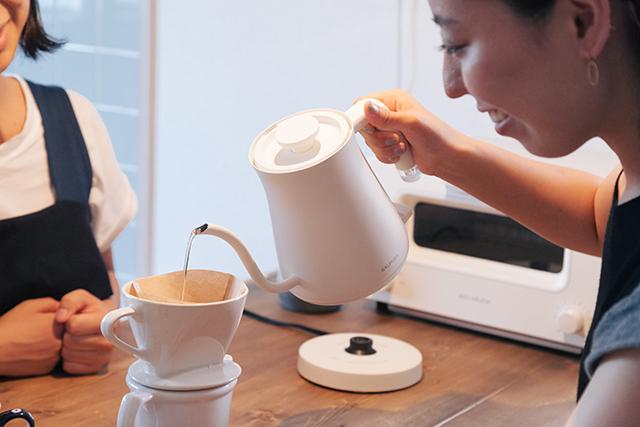 BALUMUDA(バルミューダ)ケトル「BALMUDA The Pot」はコーヒーを淹れるのに最適