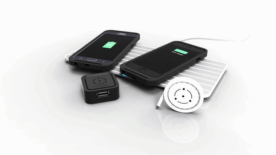 置くだけで充電できる、便利でおしゃれでプレゼントに最適なワイヤレスな充電器FLI Charge_1
