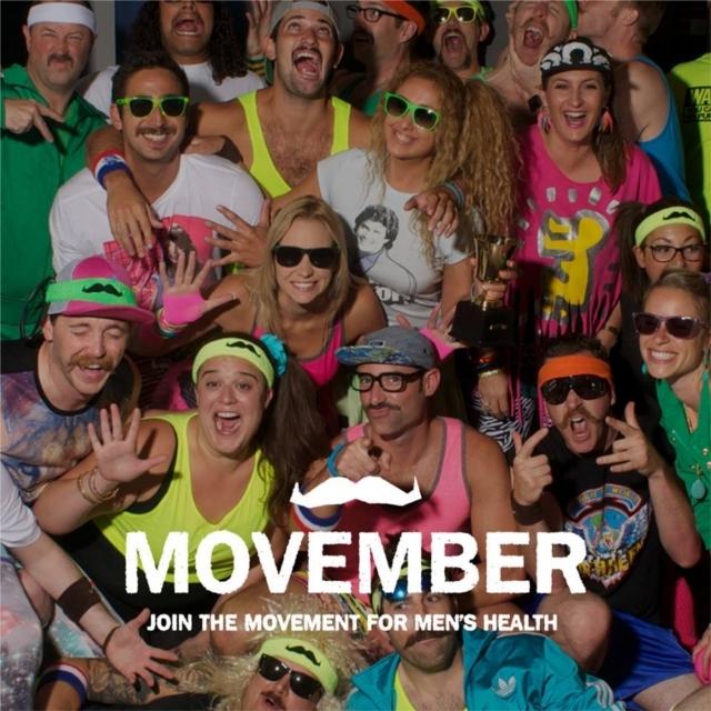多くの男性が若くして亡くなっている現状にNOを唱えるチャリティキャンペーン「MOVEMBER」。「楽しみながらいいことをする」をモットーに、11月の間、口ひげを生やしながら、個人レベル、団体レベルで、問題に取り組みむチャリティで、簡単に参加できます。イベントを開いて寄付を募る方もいます。