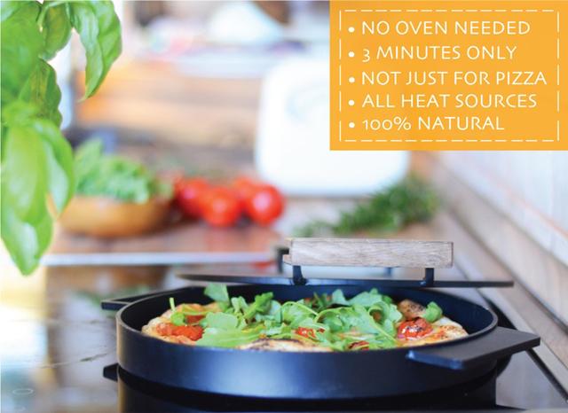 子どもも大人もみんな大好きピザを、なんとたった3分でピザが焼ける「IRONATE」がkickstarterに登場。ピザ作りの世界に革命を起こしました。ガスコンロだけでなく、キャンプファイヤやグリルでも使えるので、アウトドアにももってこいです。8