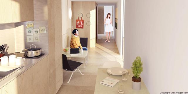学生の住居問題を解決するために生まれたコンテナ製ドミトリー「Urban Rigger」は、住居費の高い北欧・コペンハーゲンで始まったプロジェクト。水上にドミトリーを作ることで、家賃や場所の問題の解決を目指すおしゃなアパート。6