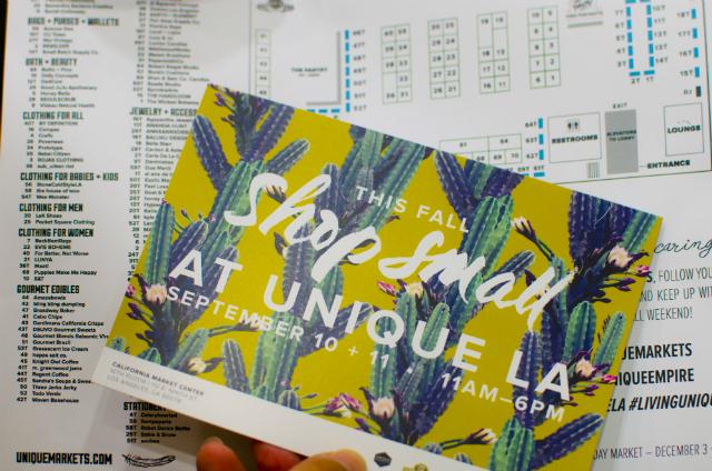 「ローカルデザイナーの活躍の場を広げたい!」という思いから、2008年より始まったマーケットイベント「UNIQUE LA」。ロサンゼルスダウンタウンの一角で年に2回開催され、今では一度の開催に10万人近くの入場者が訪れる、LAのトレンドイベントのひとつになっています。1