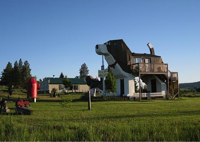 アメリカのアイダホ州にある、ビーグル犬の形をしたユニークな建物「Dog Bark Park Inn」を紹介します。小さな田舎町に位置し、自然豊かな景色の中でビーグル犬がかなり目立っています。1泊の値段はUS98ドル。手頃な価格も魅力的です。アウトドアやスポーツも楽しめます。