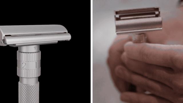 ステンレスの鈍い輝きがカッコイイT字カミソリ「Rockwell Model T」の紹介です。金属製のボディはオシャレな男子の部屋にインテリアとしても溶け込みます。機能面では、自分の顔の形に合わせて調整可能だから、全ての肌質の人が安心して使えます。カスタム可能です。
