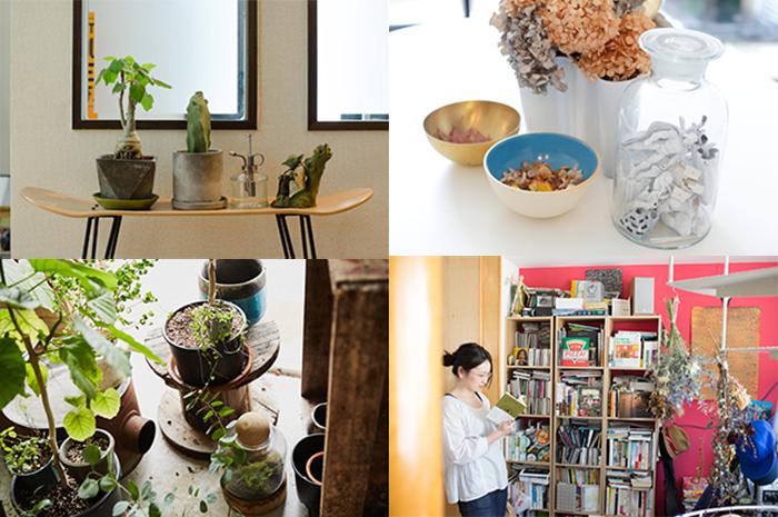 ルーミーの部屋取材で登場した植物の飾り方を、簡単に取り入れられるものから、上級者向けのテクニックまで幅広く紹介。彩りを添えて、部屋をグレードアップしてみませんか?