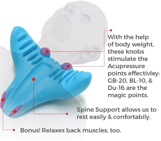 寝るだけでツボ押しマッサージの効果が得られる首・肩専用マッサージ器具「C-REST」の紹介。東洋医学とカイロプラクティックの専門家が監修したシンプルなデザインと使いやすさが特徴。たった10分間で首と肩の血流を良くし、コリをほぐしてくれる優れものだ。