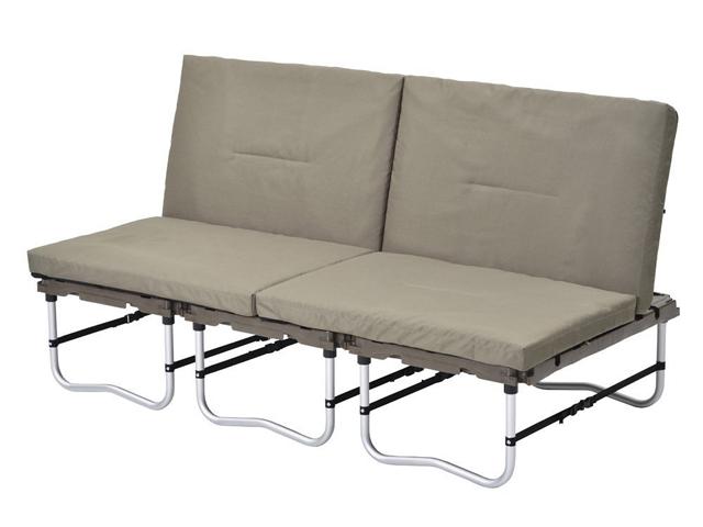 snow peakから発売されている「ラックソットシリーズ」を紹介します。あるときはソファとして、またあるときはラックとして使えるマルチファニチャーです。一式揃えれば、ソファ、ラック、テーブルなど、キャンプに必要なファニチャーをすべて用意できちゃいます。