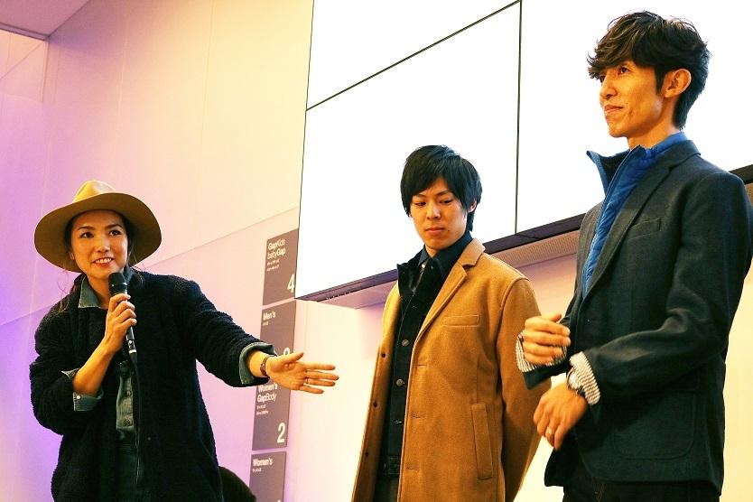 「Gap」は、毎週金曜日にデニムを取り入れたオフィスカジュアルで勤務するという、ファッション視点で新しい働き方を提案するプロジェクト「DENIM FRIDAY」を提唱。11月25日にはイベント「DENIM FRIDAY NIGHT OUT」を開催した。