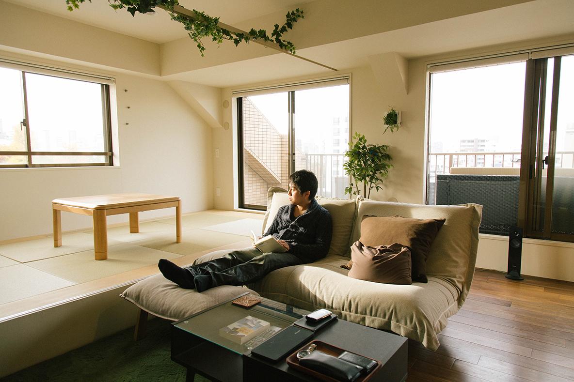 大きなソファベッド