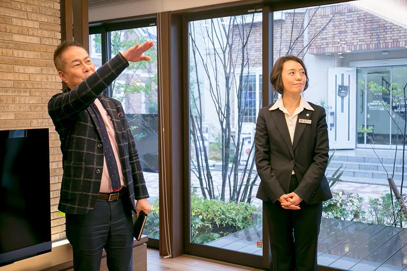 木村文雄教授とダイワハウスの横江麻実さん