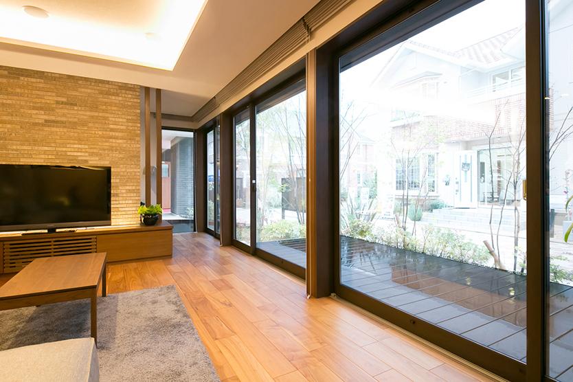 ダイワハウスによる開放的な窓の大きさ