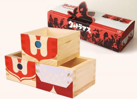 ニッポンの魅力を広く紹介するWEB発のプロジェクト・ウルトラJでは、ウルトラマンと岐阜県大垣市の工芸品「木枡」がコラボレーションした「ウルトラマス」を販売。その他スカジャンもあり、お土産やプレゼントに最適。ウルトラマン気分を懐かしみながら、お酒を楽しもう。2