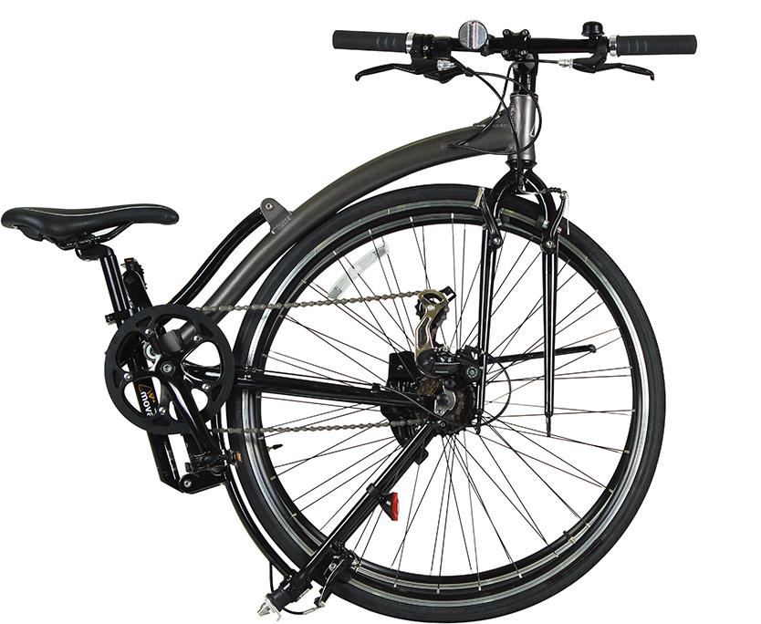 """あさひは、""""仕事や日常の時間をもっと有意義に過ごしたい""""と考えるビジネスマンに向けた自転車「OFFICE PRESS」を展開してきた。スーツで走る際もオシャレな折りたたみクロスバイク「OFFICE PRESS MOVABLE(オフィスプレス モバブル)」を発売。2"""