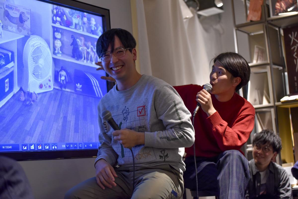 ROOMIEは『好奇心と暮らす』というキーワードを掲げ、サイトを一新。中目黒高架下の「中目黒 蔦屋書店」で、リニューアル記念トークイベントを開催した。武田俊が司会進行を務め、イラストレーターで映像作家のオオクボリュウ、Yogee New Wavesの角舘健悟がゲスト登場しトークを展開。6