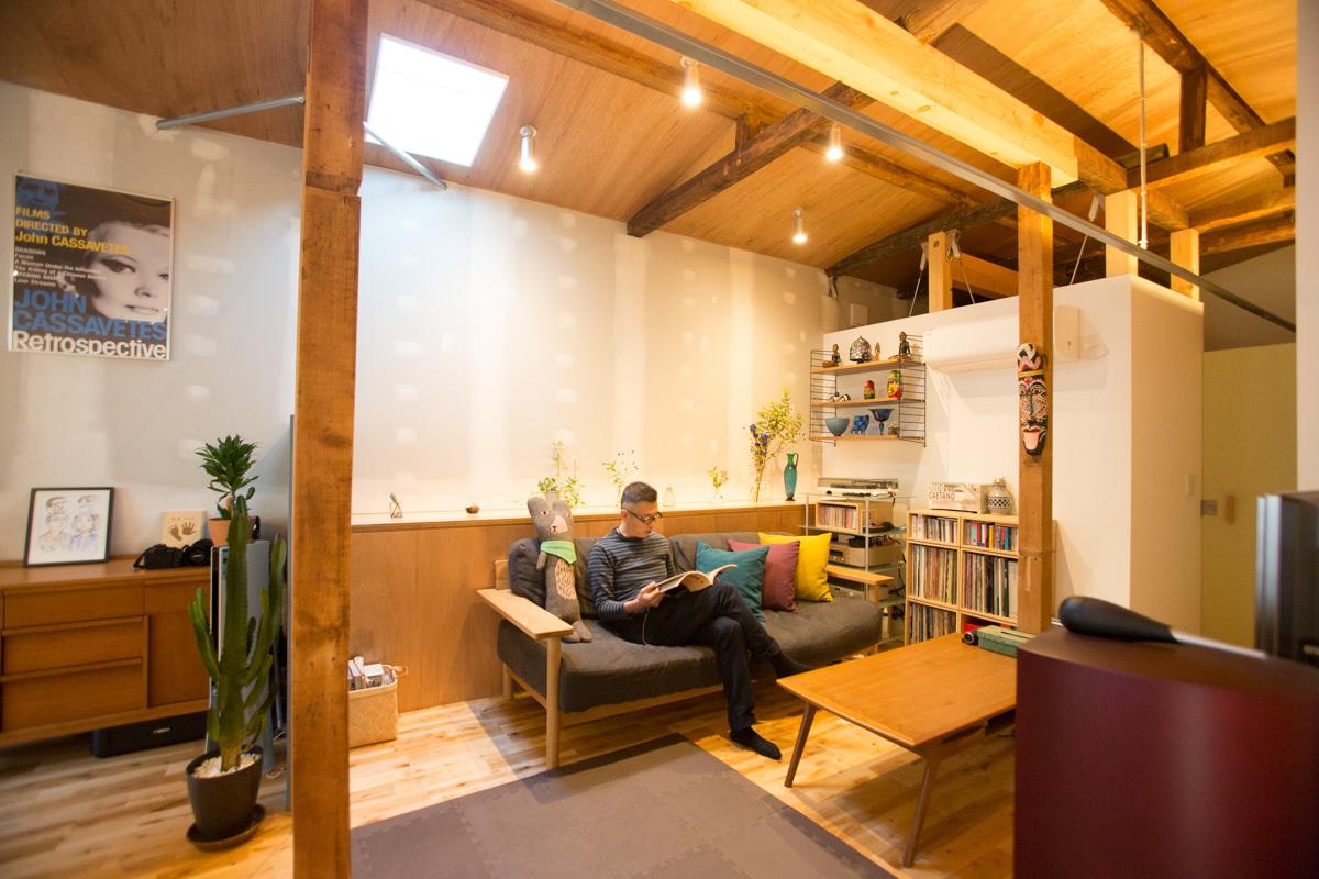 築52年の空き家を「自宅兼カフェ」にリノベーション(経堂) みんなの部屋