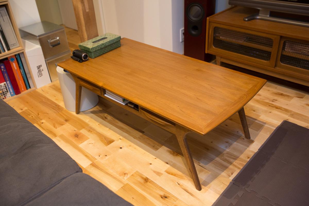 札幌の家具屋SAC WORKSのローテーブル