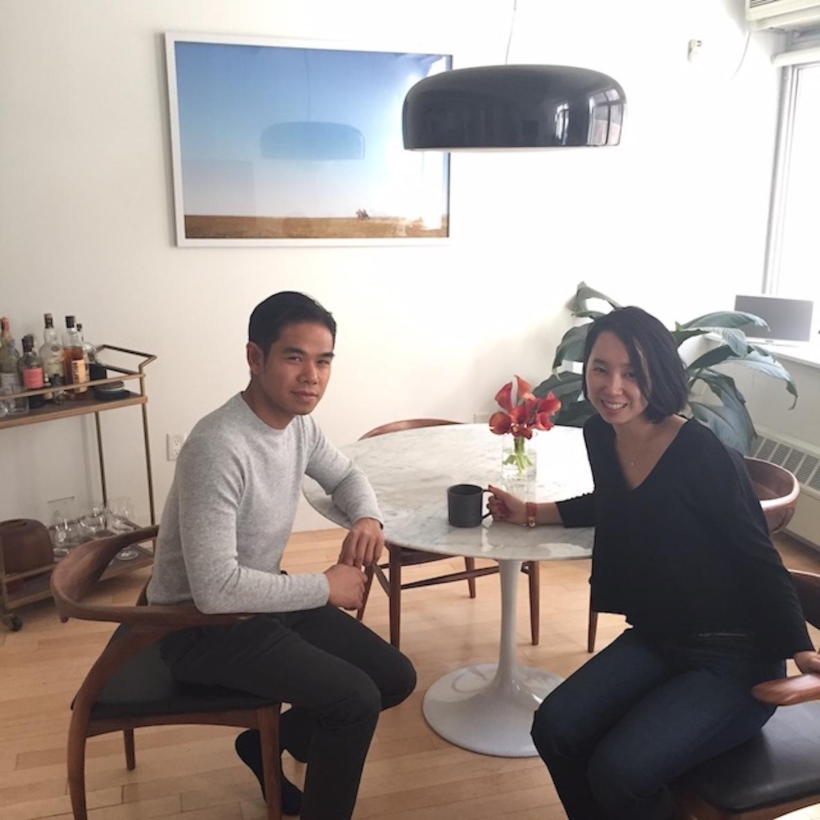 国際結婚カップルのミニマルでフォトジェニックな暮らし(NY・ブルックリン) みんなの部屋