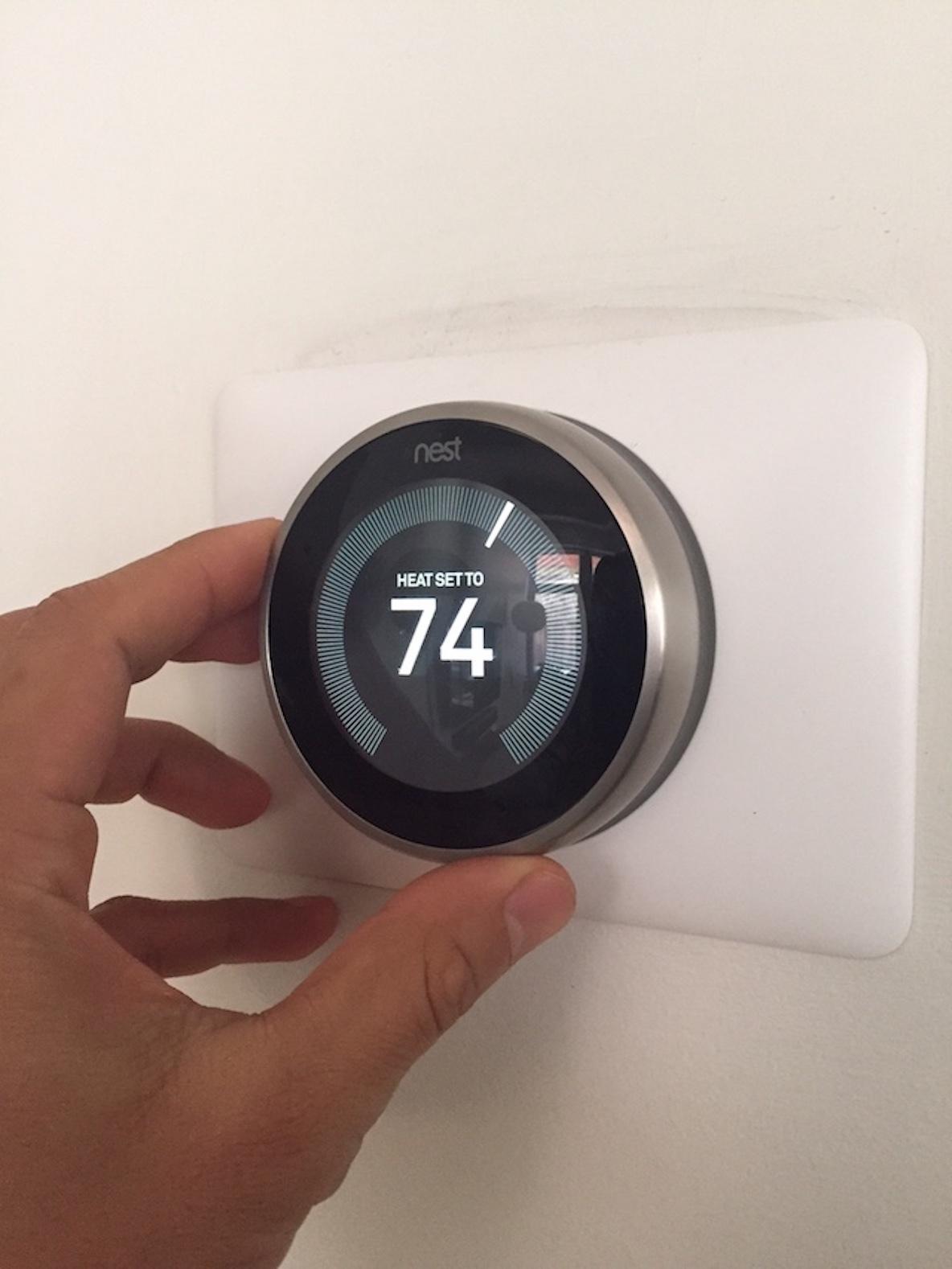 家の中の温度を調整できるNest Thermostat