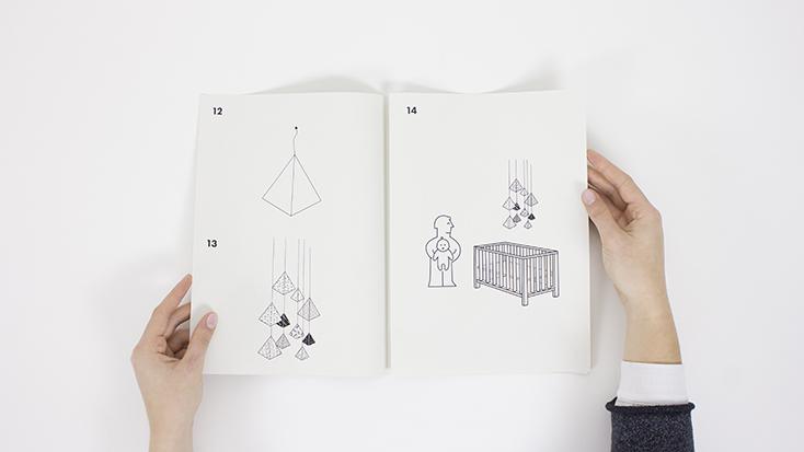 買ってきた家具を組み立てる時に必要なのは説明書。でもそんな説明書には、とても重要な記述が足りていないじゃないか、と考えたのはロンドンのデザインスタジオSPECIAL PROJECT。「Missing Pages」は、説明書に足りていないページを補ってくれるフリーダウンロードできるプロジェクトだ。14