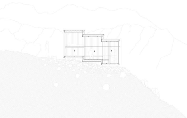 ゴツゴツとしたアルプスの岩肌に建つ直線的なデザインの山小屋「Alpine Shelter Skuta」。ミスマッチ感が印象的だが、Core77 Design Awards 2016にも入賞したすごいやつ。3
