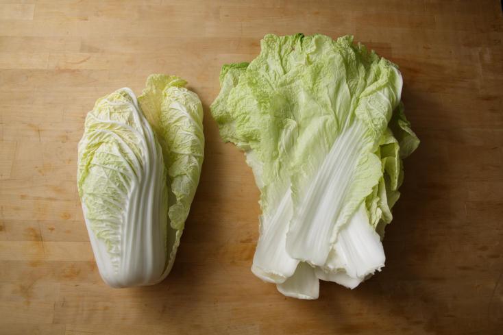 白菜の甘みをもっと引き出す調理法を、料理研究家のタカハシユキさんに教えていただいた。じっくり煮て、白菜をメインのおかずにする「白菜のとろとろ煮込みは、白菜は低温の油でじっくりと煮るように揚げることで、水分が飛んで甘さがギュッと濃縮される。1