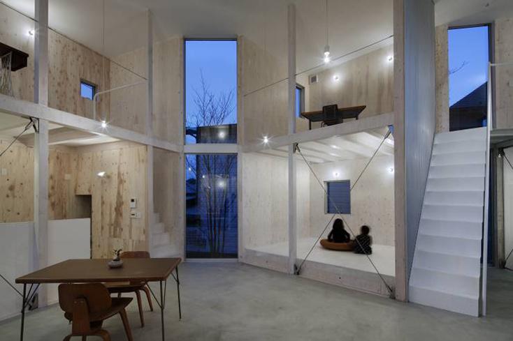 山﨑健太郎デザインワークショップによる「未完の住まい」はライフステージの変化に対応する変化可能な家