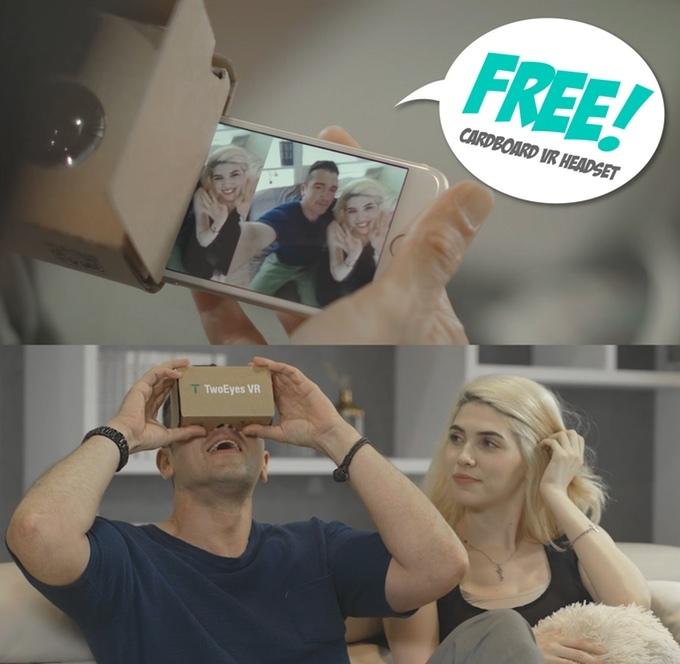 「TwoEyes VR 360 camera」は、360度、VR、3D…とりあえず全部入っているカメラだ。値段も比較的安いので、とにかく使ってみたい! というビギナーにピッタリのカメラではないだろうか。