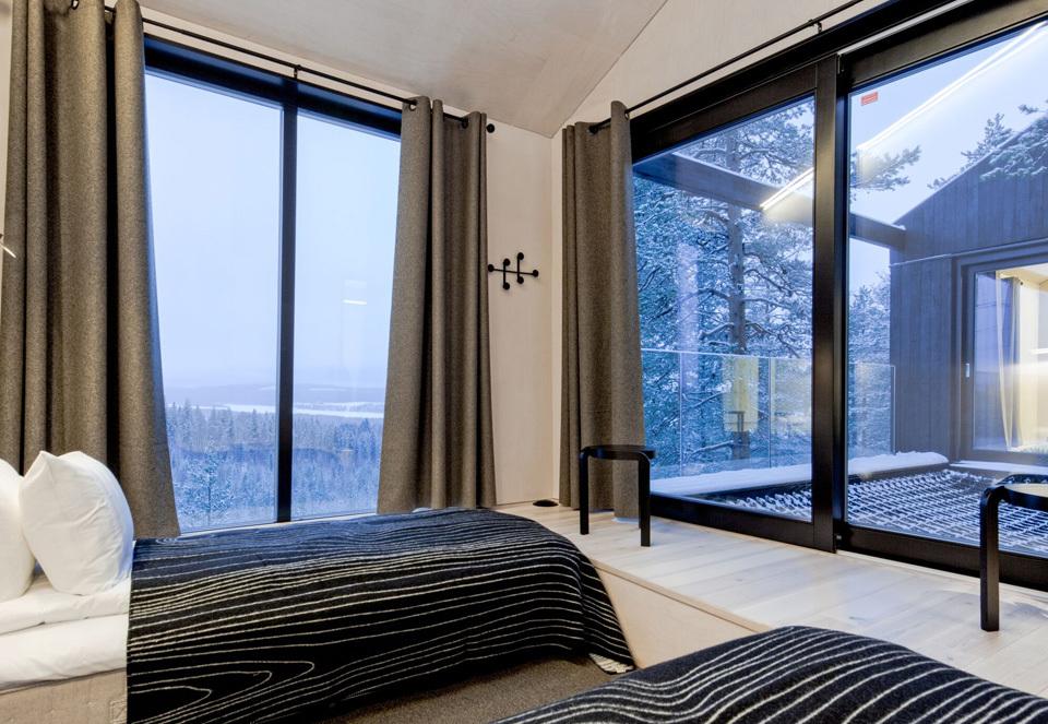 オーロラを鑑賞したい人が泊まるホテル