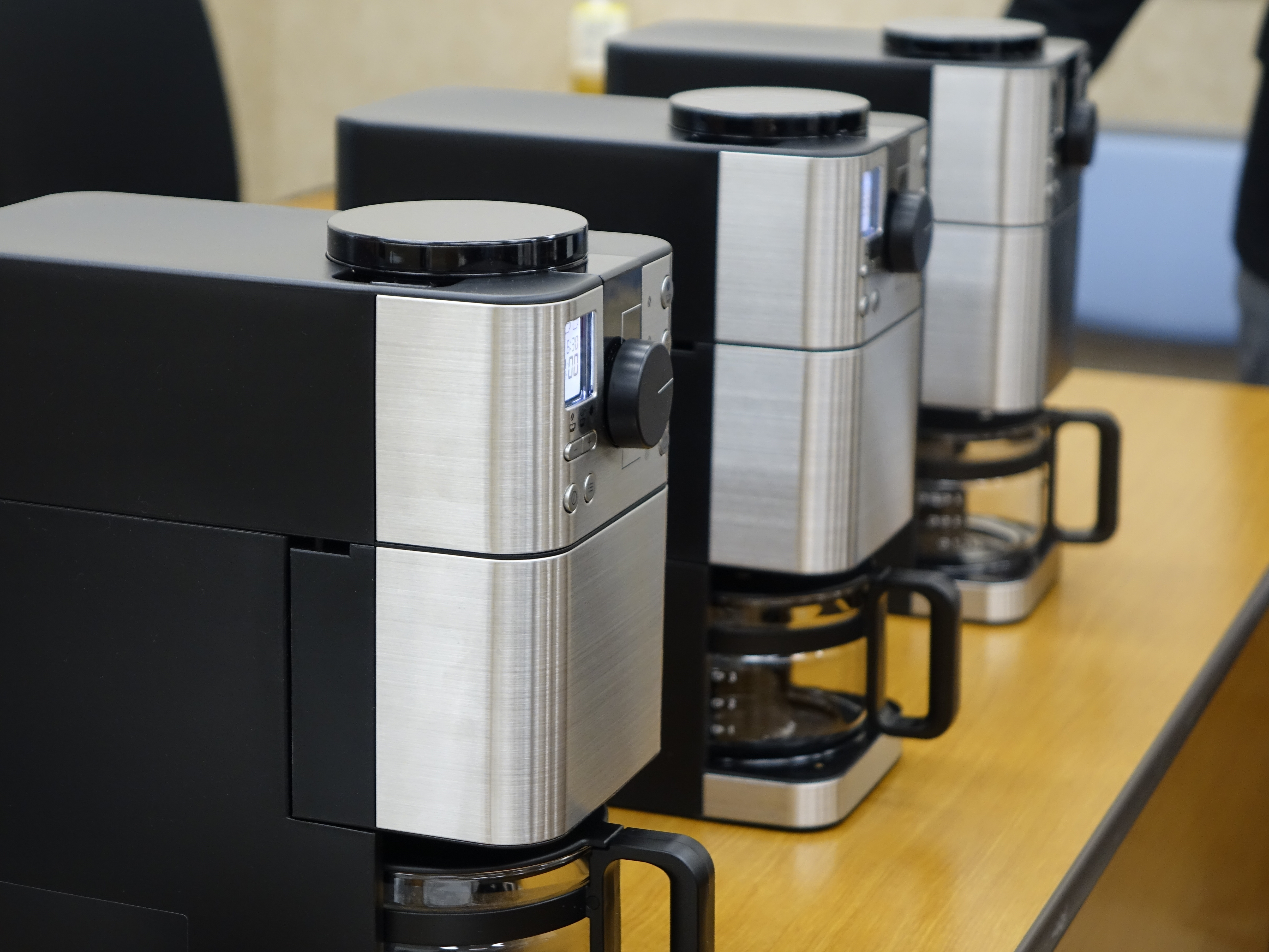 無印良品の豆から挽けるコーヒーメーカーをレポート