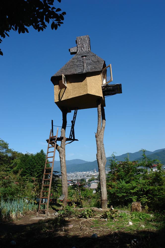 ツリーハウスのような高過庵©増田彰久