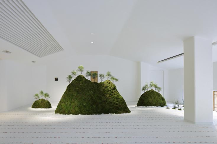《銅屋根》内観、ラ コリーナ近江八幡(たねや本社屋)