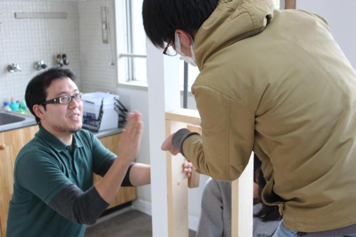 大阪府の泉北ニュータウン・茶山台団地のDIYできる賃貸住宅