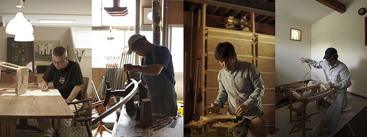 建築家・中村好文(なかむらよしふみ)氏は建築界の巨匠・吉村順三氏の下で家具デザインの助手をつとめた。レミングハウスを設立して以降、住宅設計や住宅家具のデザインを手がけている。3人の家具職人との製作をめぐる展覧会が、竹中工務店が運営支援するGALLERY A4(ギャラリーエークワッド)で開催。4