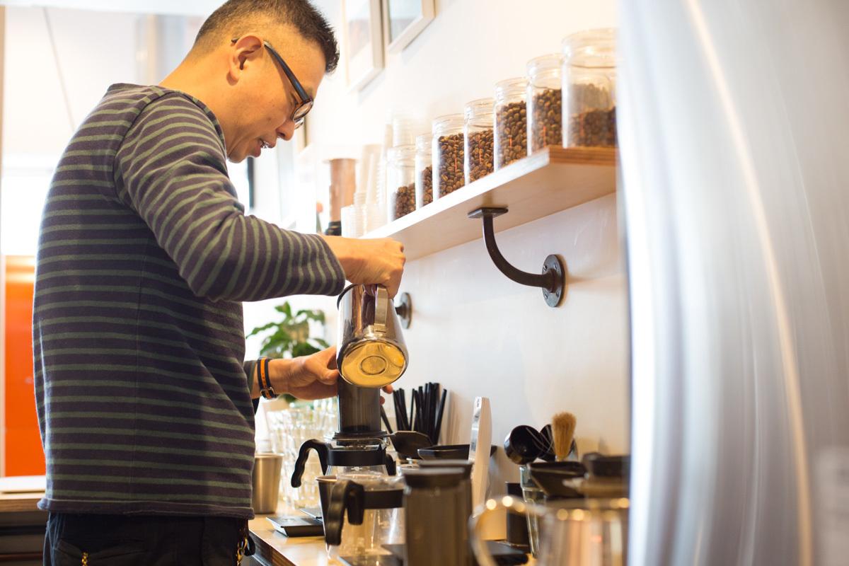 FINETIME COFFEE ROASTERSの近藤剛さん