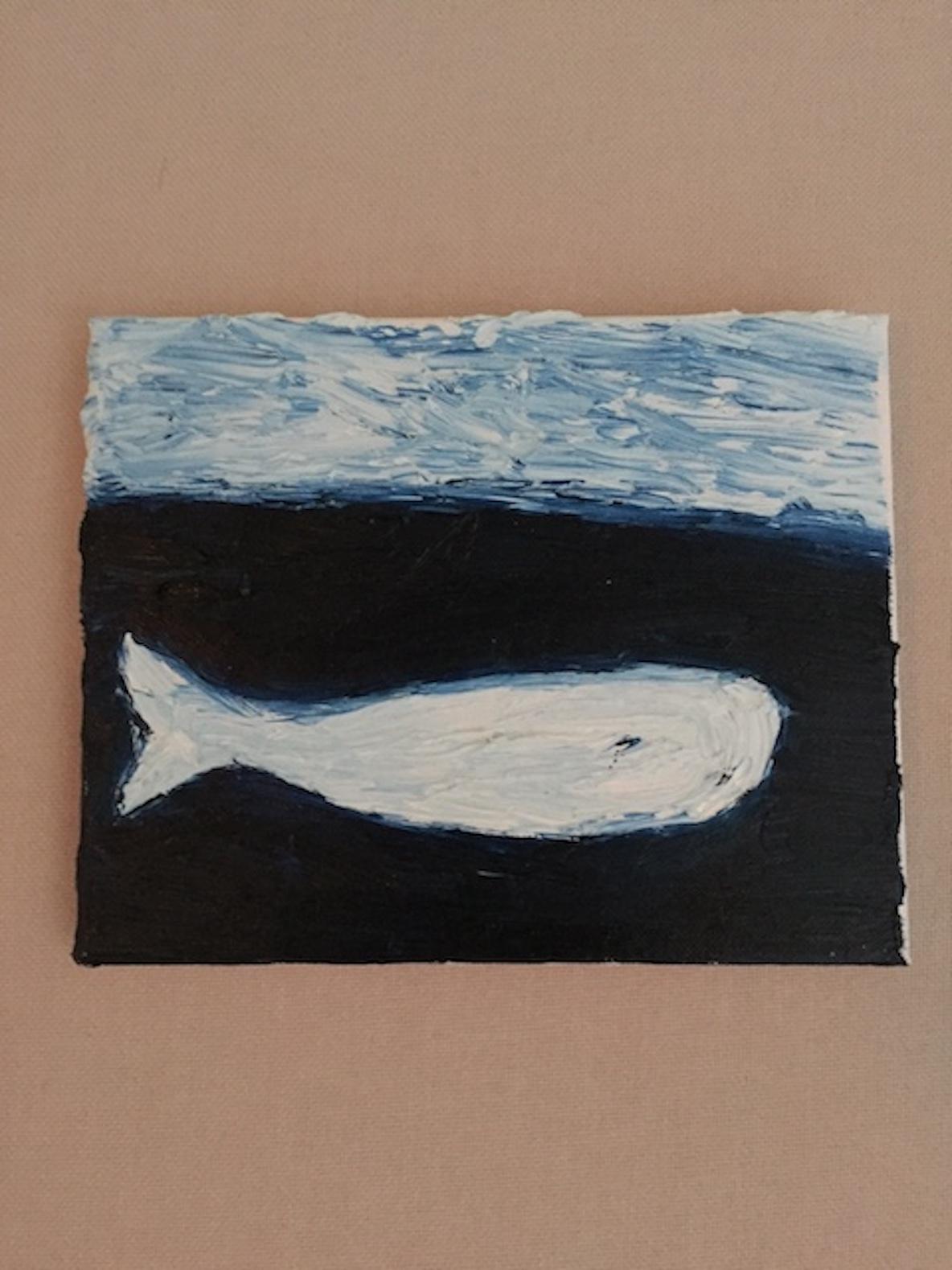 ニューヨーク・ブルックリンで暮らすアーティストが描いた水彩画
