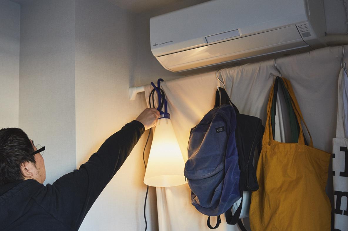 アウトドアで使いたいFLOSの照明